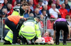 Cork footballer Ruairi Deane hit with suspected cruciate injury