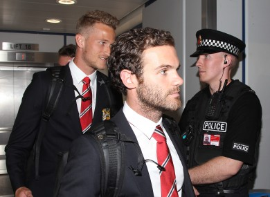 Mata has been part of a United side that has impressed in pre season.