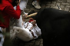 Author of 'How to Survive the Bulls of Pamplona' gored by the bulls of Pamplona