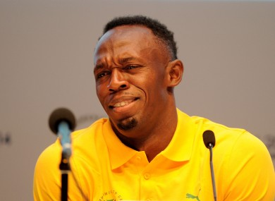 Usain Bolt was unsure about the field of questioning at his Commonwealth Games press conference.