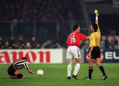 Keanes Inspirational Performance Against Juventus Guided United To The 1999 Champions League Final But