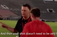 Van Gaal tells Rooney and Valencia how to improve during shooting practice