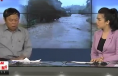 Man has hilariously bad reaction to his phone ringing on live television