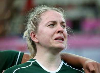 Niamh Briggs has made the IRB dream team.