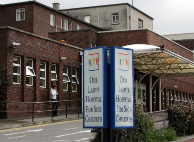 The girls have been transferred to Crumlin and Tallaght hospitals.