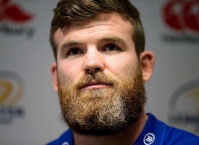 The most-loved beard in Irish rugby.