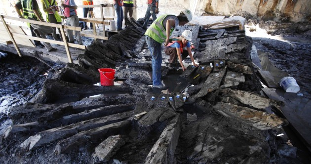 A revolutionary era ship from the 1770s was found buried underneath the World Trade Center