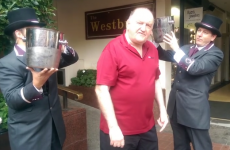 George Hook does the fanciest ice bucket challenge yet