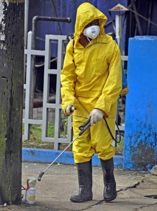 Monrovia City taking steps to stop the disease's spread.