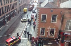 Luas red line disrupted by tangled wires