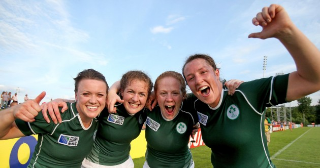 We'll leave it there so: Ireland too strong for world champions New Zealand and all today's sport