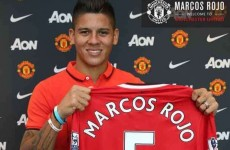 Van Gaal had not expected Rojo delay