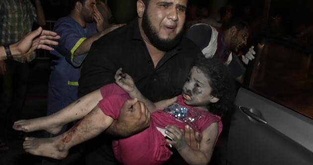 Air strikes in Gaza kill pregnant woman and four children