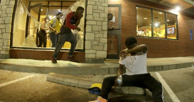Two wounded by gunfire as violence ramps up in Ferguson protests
