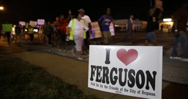 National Guard leave town as Ferguson tensions calm