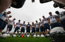 Penn State and UCF are acclimatising to Irish weather ahead of the Croke Park Classic