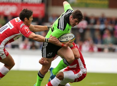 Gloucester scored six tries in a 45-8 win over Munster.