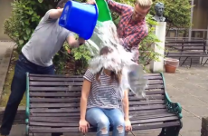 RTE presenter Jenny Greene took the Ice Bucket Challenge