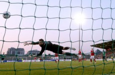 Saints secure win after Clarke's heroics