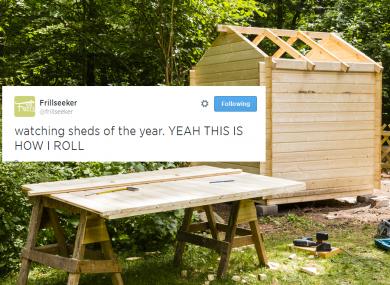 Sheds, sheds, sheds.