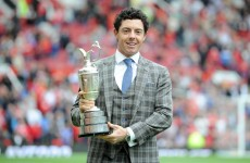 Twitter reacts to Rory McIlroy and THAT outfit at Old Trafford today