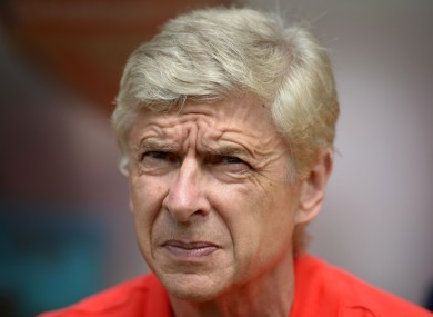 Wenger says Arsenal were