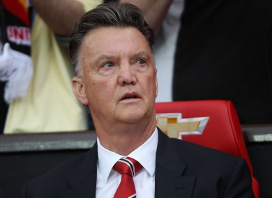 Van Gaal has had a difficult start to life as Manchester United manager.