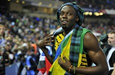 VIDEO: Unstoppable Usain Bolt anchors Jamaica to relay gold