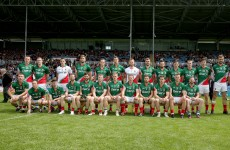 Mayo unchanged for All-Ireland quarter-final clash with Cork