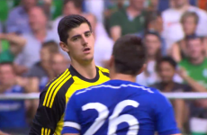 Thibaut Courtois unable to stop Chelsea slipping to defeat against Werder Bremen