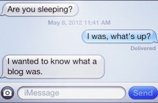 15 mums who are expressing themselves via text message