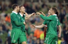 Job done! Doyle, Pearce ensure that Ireland warm up with a win