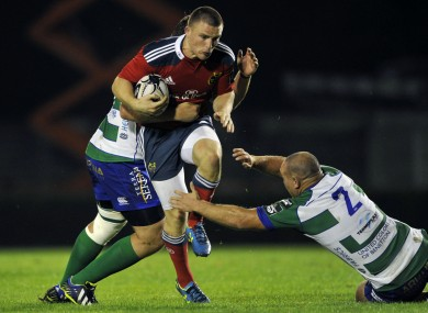 Anthony Foley got his first competitive win as Munster head coach tonight.