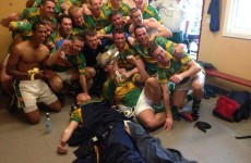Snapshot: Broken tibia can't stop Kilmurry keeper from celebrating Junior title