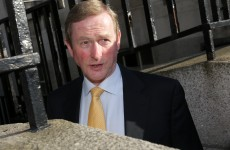 None of Enda Kenny's cabinet colleagues asked him to explain 'McNulty-gate' today