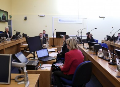 The independent Historical Institutional Abuse (HIA) Inquiry at Banbridge Court, Northern Ireland.