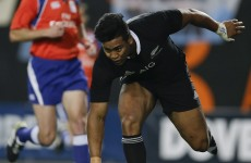 Julian Savea now has 27 tries in 27 Tests for the All Blacks