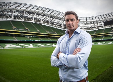 David Wallace has played in Leinster vs Munster matches in front of crowds ranging from 200-80,000+.