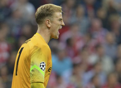 Joe Hart excellent display could not stop Bayern Munich from beating Man City last night.