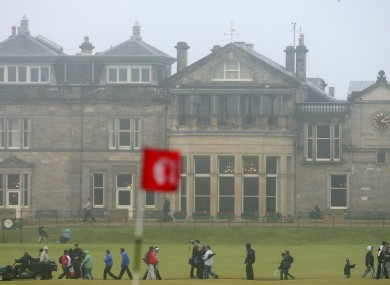 The Old clubhouse at St. Andrews