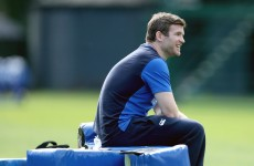 Gordon D'Arcy is no longer the beard king of Leinster Rugby