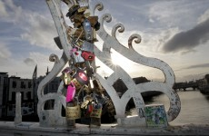 Here's the new plan to stop people putting love locks on the Ha'penny Bridge