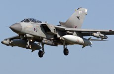 British warplanes are already in the skies over Iraq waiting to attack