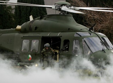 Members of the Defence Forces 44th Infantry Group train in Wicklow earlier this year, ahead of their deployment.