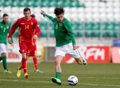 Grealish is in the U21s squad which faces Germany tomorrow.