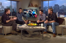 VIDEO: Rory McIlroy gave Chris Kamara some golf tips on 'Goals on Sunday' today