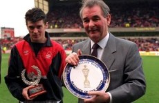 Brian Clough and his effect on the Irish management team