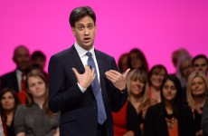"He forgot to mention it in his speech … but Ed Miliband insists the UK deficit is an ""incredibly high"" priority"