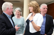 Joan Burton: 'Eamon is here and in very good form'