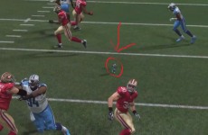 This teeny tiny linebacker glitch is the best thing about Madden 15